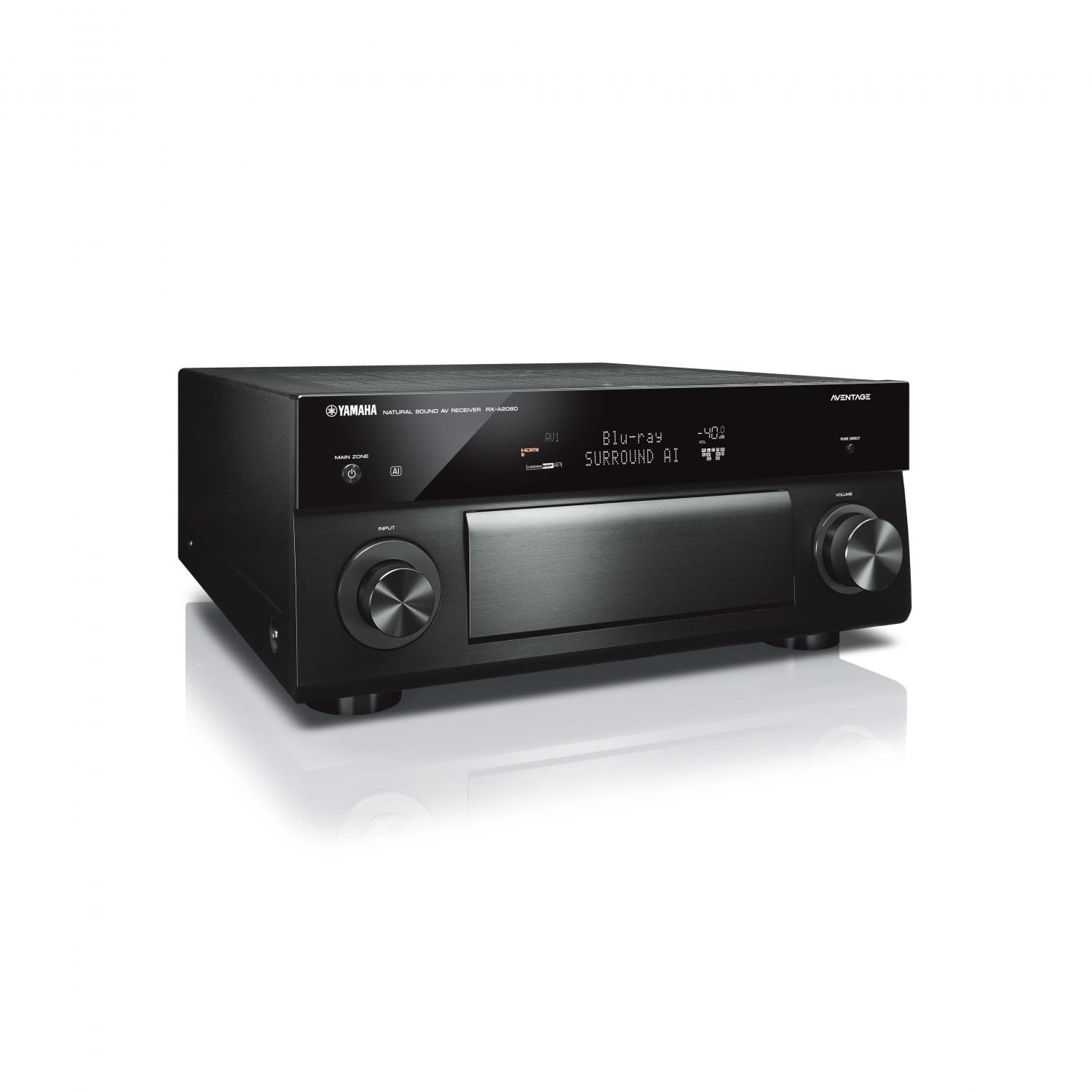 receiver yamaha aventage rx a2080 sound advisors. Black Bedroom Furniture Sets. Home Design Ideas