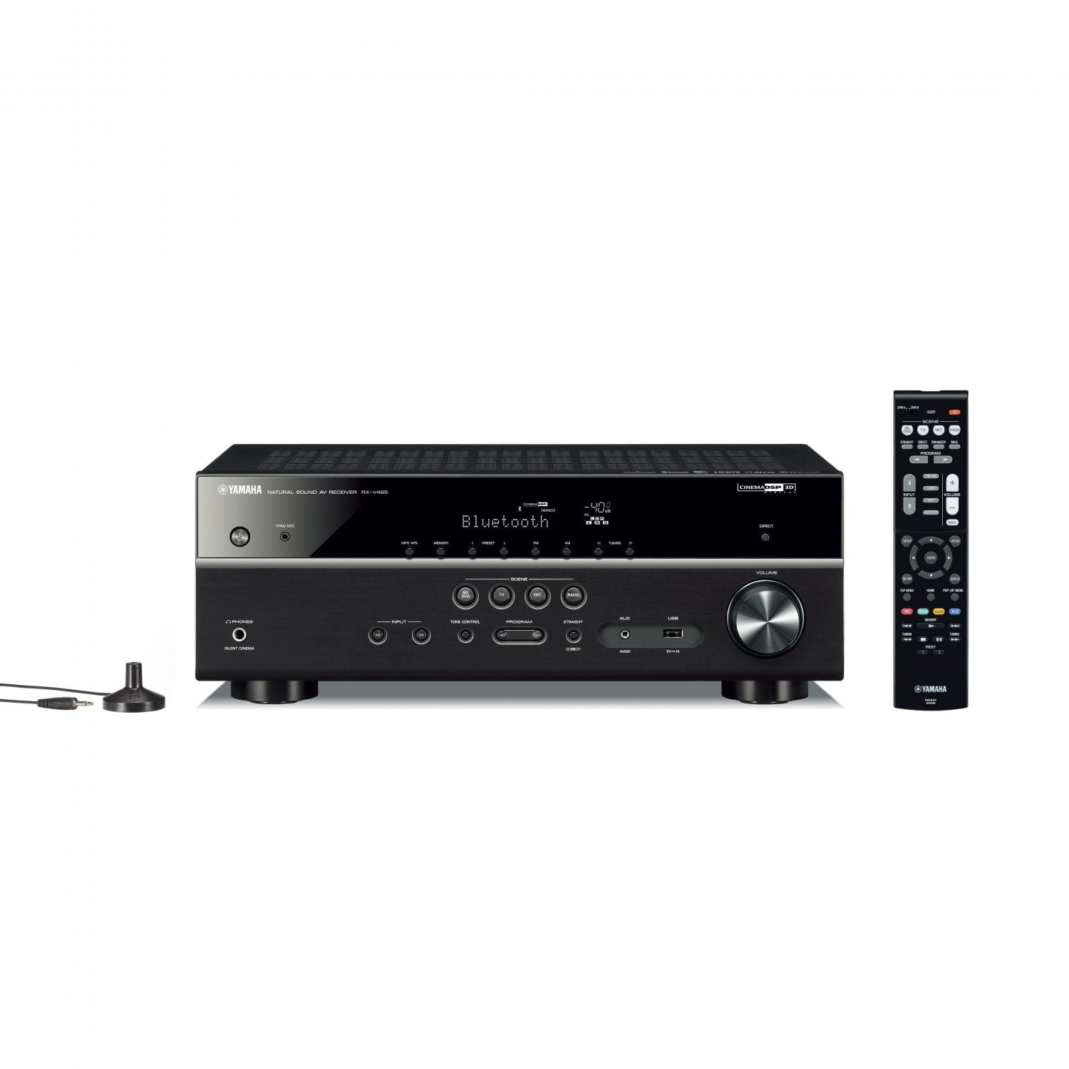 receiver yamaha rx v485 sound advisors. Black Bedroom Furniture Sets. Home Design Ideas